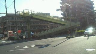 歩道橋 後一息